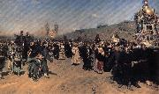 A Religious Procession in kursk province Ilya Repin