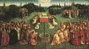 Adoration fo the Mystic Lamb,from the Ghent Altarpiece Jan Van Eyck