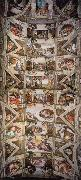 Ceiling of the Sistine Chapel Michelangelo Buonarroti