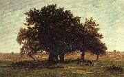 Oak Trees near Apremont Theodore Roussel