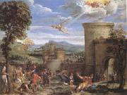 The Stoning of ST.Stephen (mk05) Annibale Carracci