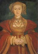 Anne of Cleves (mk05) Hans Holbein