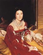 Portrait of Marie Marcoz,later Vicomtesse de Senonnes (mk04) Jean Auguste Dominique Ingres