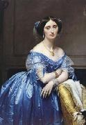 Portrait of Princess Pauline-Eleonore de Broglie (mk04) Jean Auguste Dominique Ingres