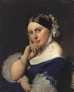 Portrait of Delphine Ingres,nee Ramel (mk04) Jean Auguste Dominique Ingres