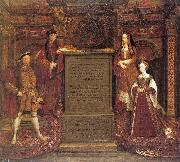 Copy after Hans Holbein the Elder's lost mural at Whitehall Leemput, Remigius van