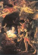 The Adoration of the Shepherds MENGS, Anton Raphael