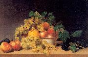 Still Life with Fruit on a Tabletop Peale, James
