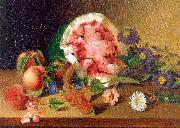 Still Life with Watermelon Peale, James