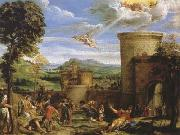The Martyrdom of St Stephen (mk08) Annibale Carracci