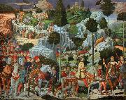 Procession of the Magi (mk08) Benozzo Gozzoli