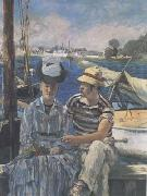 Argenteuil (The Boating Party) (mk09) Edouard Manet