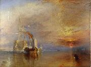 The  Fighting Temeraire Tugged to het last berth to be Broken Up (mk09) J.M.W. Turner