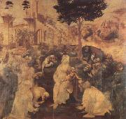 Adoration of the Magi (mk08) LEONARDO da Vinci