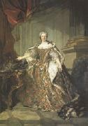 Marie Leczinska Queen of France wife of Louis XV (mk05) Louis Tocque