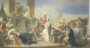 Polyxenes Sacrificing to the Gods of Achilles (mk05) PITTONI, Giambattista