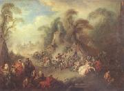 A Country Festival with Soldiers Rejoicing (mk05) Pater, Jean-Baptiste