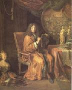 Portrait of the Artist (mk05) Pierre Mignard