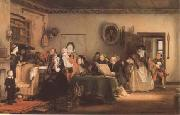 Reading the Will (mk09) Sir David Wilkie