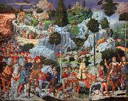 The Journey of the Magi (nn03) Benozzo Gozzoli