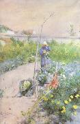 In the Kitchen Garden (nn2 Carl Larsson