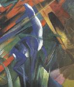 Details of Fate of the Animals (mk34) Franz Marc