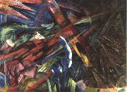 Fate of the Animals (mk34) Franz Marc