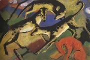 Playing Dogs (mk34) Franz Marc
