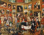 The Tribuna of the Uffizi (mk25) Johann Zoffany