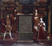 Henry VII and Elizabeth of York (mk25) Leemput, Remigius van