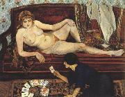 Future Unveiled or The Fortune Teller (mk39) Suzanne Valadon