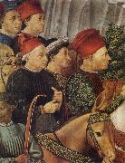 Procession of the Magi Benozzo Gozzoli