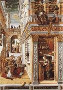 Annunciation with St Emidius Carlo Crivelli