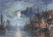 Shields,on the River J.M.W. Turner