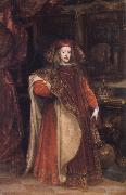 Charles II As Grandmaster ofthe Golden Fleece Miranda, Juan Carreno de