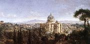The St Peter's in Rome WITTEL, Caspar Andriaans van