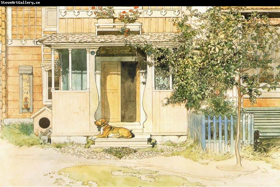 Carl Larsson The Veranda