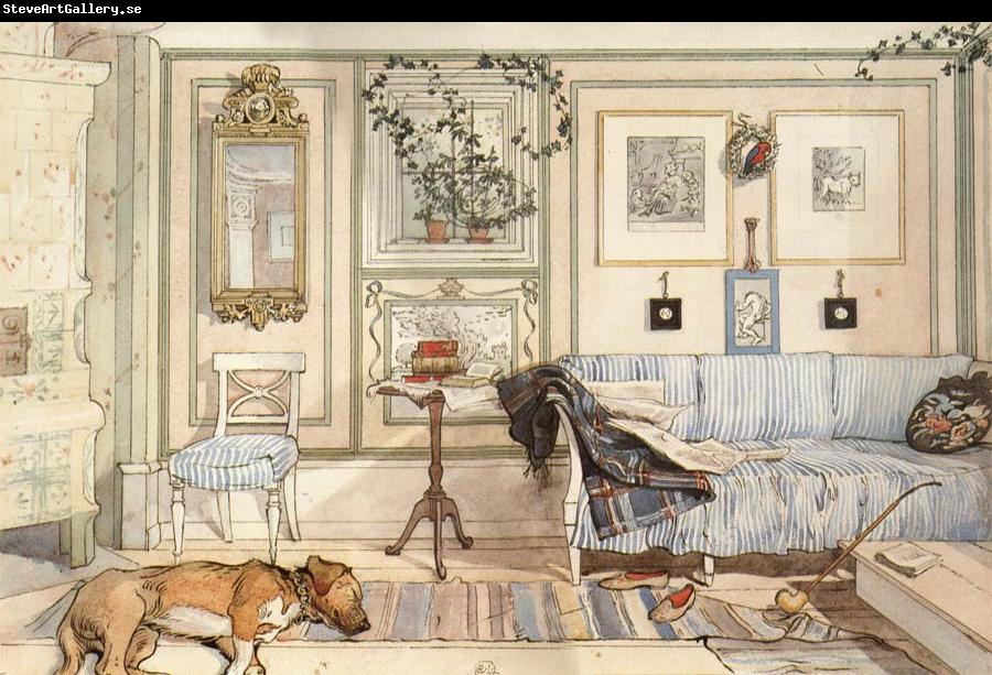 Carl Larsson Lazy Nook