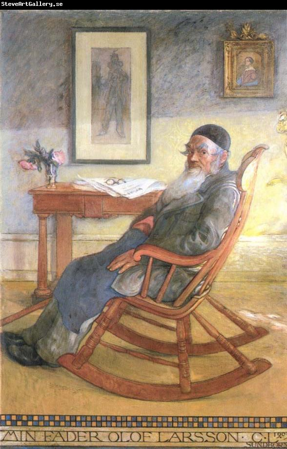 Carl Larsson My Father,Olof Larsson