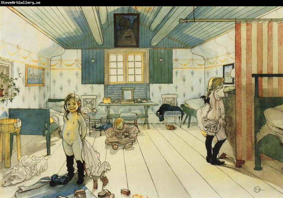 Carl Larsson Mama-s and the Little Girl-s Room