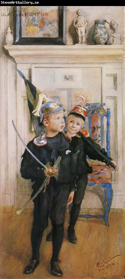 Carl Larsson Ulf and Pontus