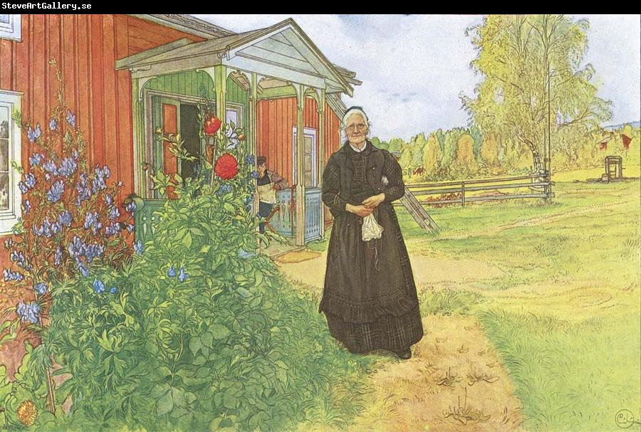 Carl Larsson Father and Mother