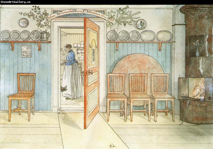 Carl Larsson Old Ann