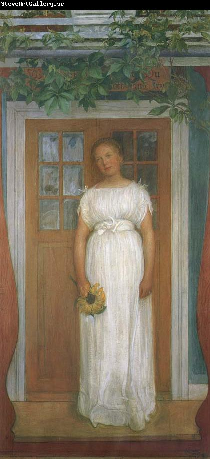 Carl Larsson Seventeen Years old