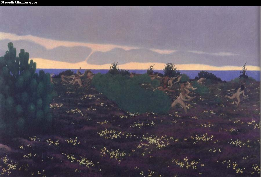 Felix Vallotton Antique Evening