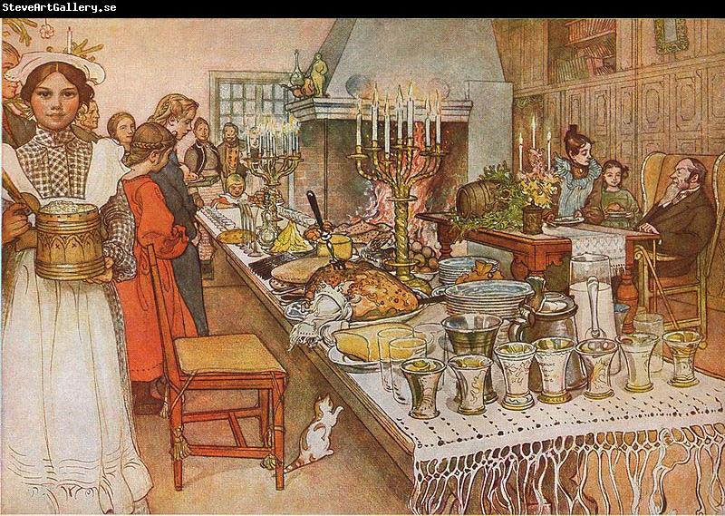 Carl Larsson Christmas Eve