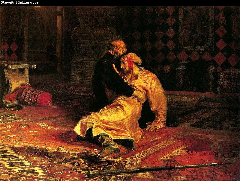 Ilya Repin Ivan the Terrible and his son Ivan on Friday, November 16