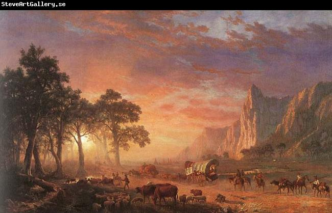 Albert Bierstadt Oregon Trail