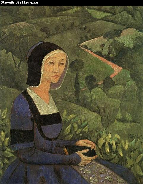 Paul Serusier A Widow Painting