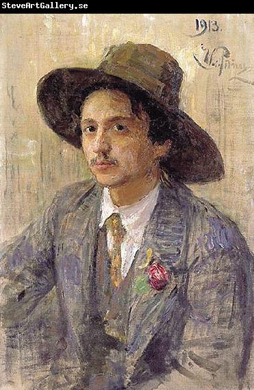 Ilya Repin Portrait of the painter Isaak Izrailevich Brodsky